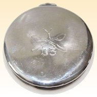 "Antique Sterling Silver Hallmarked Whiting Box Dated ""03"""