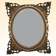 Beautiful 19th Century Gilt Wall Mirror