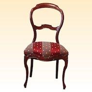 19th Century Mahogany Side Chair