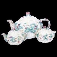 Vintage Ceramic Japanese Three-Piece Tea Set, The Haldon Group