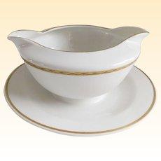 Swedish Modern Tirschenreuth Porcelain Gravy/Sauce Boat