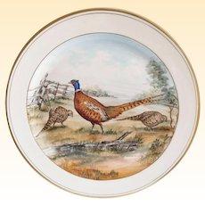 Vintage Abercrombie & Fitch Co. Frank Vosmansky Pheasant Plate