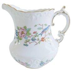 Vintage Aynsley Pembroke Floral Porcelain Pitcher