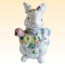 Adorable Vintage Porcelain Bunny Teapot Set