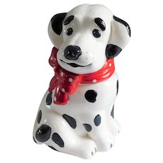 Dalmation Ceramic Vintage Cookie Jar
