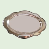 E.G Webster & Sons Antique Silverplate Serving Tray