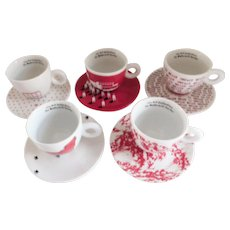 illy Robert Wilson Art Collection Espresso Sets - Set/Five