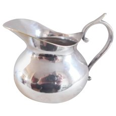 A. Boulenger French Hallmarked Silverplate Pitcher