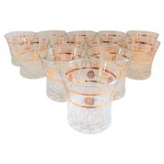 GE (General Electric) Mid-Century Vintage Libbey Cocktail Glasses - Set of Twelve