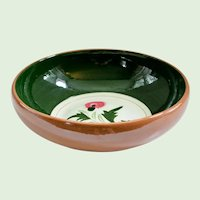 Stangl Pottery Salad Bowl - Mid Century Redware