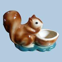 Squirrel Pottery Planter