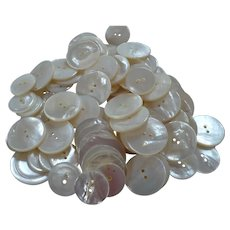 68 Mother of Pearl Buttons