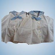 Child's Sister Sailor Dresses