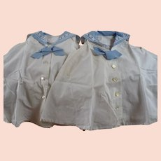 Child's Sister Sailor Dresses