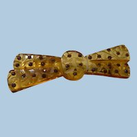 Applejuice Bakelite Bow Pin