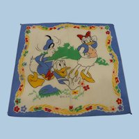 Donald Daisy Duck Handkerchief