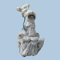 Chenille Satin Shell Doll