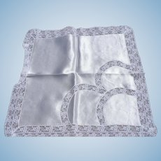 Satin Lace Bridal Handkerchief