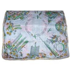 1939 Cotton Worlds Fair Handkerchief
