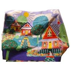 Printed House Panel Fabric