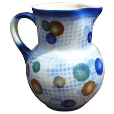 Small Czech Airbrushed Pitcher