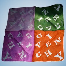 Givenchy Cotton Handkerchief