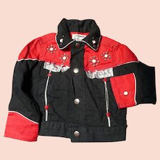 Childs Snap Cowboy Jacket
