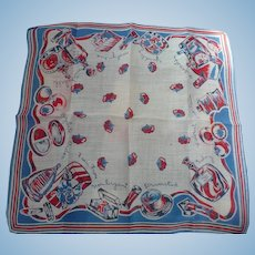 Perfume Collectors Handkerchief