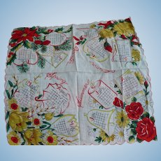 Four Seasons Handkerchief
