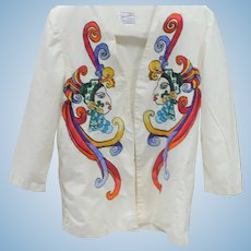Embroidered Mexican Jacket