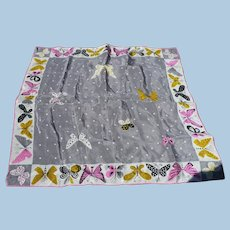 Tammis Keefe Butterfly Silk Scarf