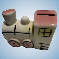 Ceramic Train  Bank