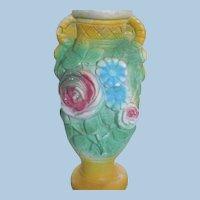 1950's Carnival Chalkware Vase