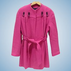 Hot Pink Ladies Coat