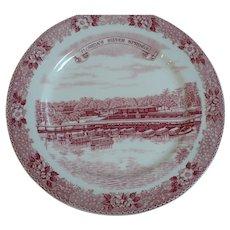 Florida Silver Springs Souvenir Plate