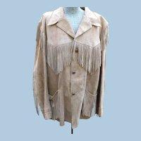 1950's Suede Fringe Jacket