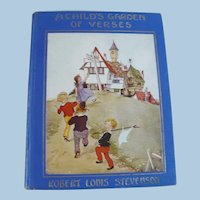 Child's Garden of Verses Book c 1929