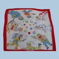 What Will I Be? Child's Handkerchief