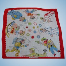 What Will I Be? Child's Handkerchief