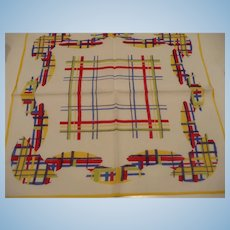 Plaid Cotton Handkerchief