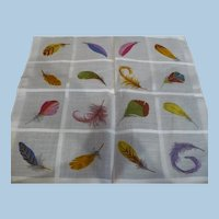 Feathers Handkerchief