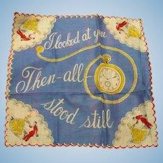Time Stood Still Handkerchief