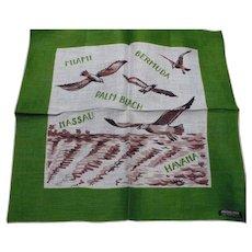 190's Havana Miami Handkerchief