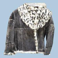 Fur Lined Leather Jacket