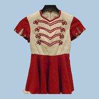 C.E. Ward Majorette Uniform 1950's