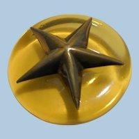 Bakelite Star Button