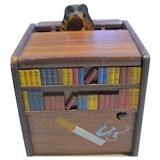 wood Cigarette dispenser Music Box
