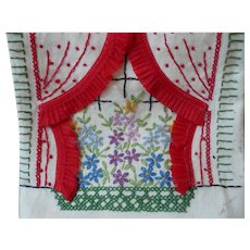 Window & Curtains Guest Towel