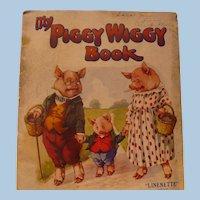 Linenette My Piggy Wiggy Book