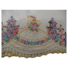 Crinoline Lady Pillowcase